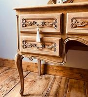 French Antique Dressing Table / Vintage Dressing Table / Louis XV Style Vanity (4 of 6)