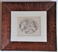 Francesco Bartolozzi 1791 Print after John Howes, 18th Century Colour Impression, Period Frame (2 of 6)
