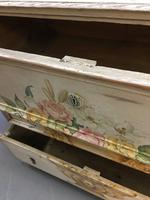 19th Century Painted Commode Chest of Drawers (3 of 12)