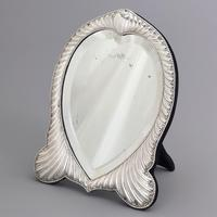 Fine Antique Silver Dressing Table Mirror by William Comyns London 1893 (9 of 10)