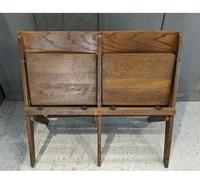Vintage Oak Collapsible Pew Chairs c.1910 (4 of 5)