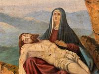Pair of 19th Century Religious Old Master Oil Paintings - Set of 14 Available (26 of 32)