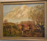 Oil Painting of the Old Bridge Near Welham (3 of 8)