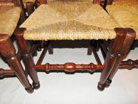 Set Of Lancashire Ladder Back Dining Chairs (6 of 7)