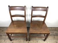 Pair of Antique Welsh Oak Farmhouse Chairs (4 of 17)