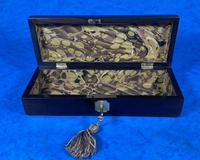 William IV Rosewood Glove Box with Brass Inlays (9 of 11)