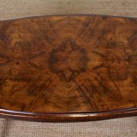 Walnut Writing Table Desk 19th Century Victorian (4 of 9)
