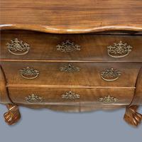 19th Century Dutch Walnut Chest of Drawers (2 of 10)