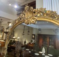 Very Large Arched Mirror with Scrolling Flowers (3 of 9)