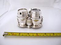 Fab Quality Victorian Silver Condiment Set George Fox London 1877 (7 of 12)