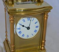 Carriage Clock with Convex Case Mouldings (3 of 5)