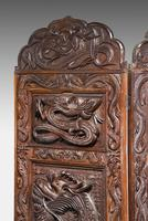 19th Century Carved Eastern Screen (7 of 9)