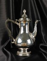 High Quality George III Style Silver Coffee Pot (9 of 10)