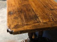 French Oak Farmhouse Refectory Dining Table (15 of 20)