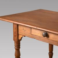 19th Century Pine French Country Farmhouse Table (4 of 4)