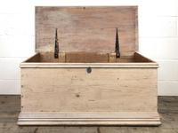Antique Pine Trunk or Blanket Box (12 of 14)