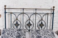 Handsome Victorian no End King Size Bed (6 of 9)