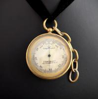Antique pocket barometer, Darton and Co (6 of 12)