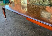 Victorian Mahogany Extending Dining Table with 3 Leaves seats 12 (4 of 8)