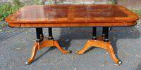 1960's Mahogany Pull Out Table with Set of 6 Dining Chairs.4+2 Carvers (9 of 14)