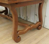 Os De Mouton Oak Extending Dining Table (5 of 11)