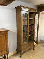 Edwardian Tall Bookcase (12 of 14)