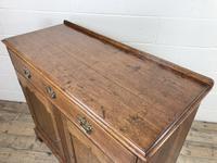 Antique Oak Cupboard on Bracket Feet (9 of 12)