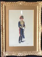 Watercolour Captain EA Campbell 1879-1936