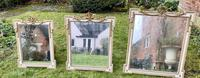 Set of Three Painted & Gilt Mirrors (5 of 9)