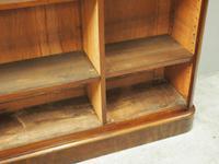 Victorian Mahogany Open Bookcase (10 of 11)