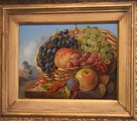 Still life oil painting after Albert Francis King (8 of 8)