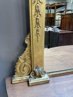19th Century Gilt Overmantle Mirror (4 of 5)