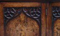 Early 19th Century Pollard Oak Bookcase (8 of 13)