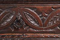 Large 18th Century Antique Carved Oak Dresser c.1740 (5 of 8)