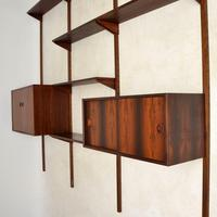 1960's Vintage Danish Rosewood PS Shelving System (7 of 13)