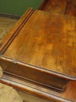 Antique Satin Birch Pedestal Desk by Heal & Sons (19 of 21)