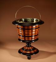 Dutch Coopered Tea Stove Bucket / Peat Bucket / Jardinière