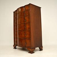 Large Antique Burr Walnut Chest of Drawers (4 of 11)
