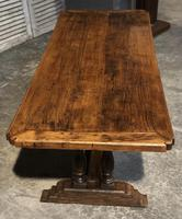 French Oak Farmhouse Refectory Dining Table (10 of 20)