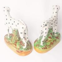 Pair Staffordshire Flatback Dalmatians (3 of 7)