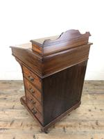 Late Victorian Inlaid Rosewood Davenport Desk (10 of 17)