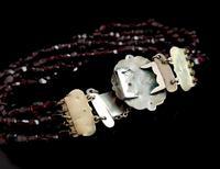 Victorian Bohemian Garnet Bead Bracelet (7 of 11)