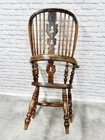 Antique Broadarm Windsor Armchair in Ash & Elm (7 of 7)