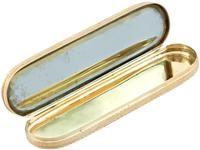 22ct Yellow Gold Toothpick Case/holder with Mirror - Antique George III (1779) (7 of 15)