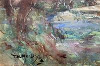 Thomas William Morley Bonhams Prov Kent Country watercolour Painting (6 of 12)