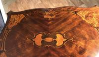 Quality Inlaid Walnut Occasional Table (16 of 18)