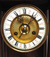 Fantastic Rare Victorian 8-day Wall Clock – Small Antique Striking Vienna Wall Clock (16 of 17)