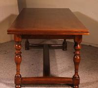 Extendable Table with Turned Legs - 19th Century Netherlands (3 of 10)