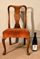 Walnut Queen Anne Style Childs Chair (5 of 5)
