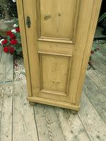 Fabulous Old Stripped Pine Pine Cupboard / Cabinet/ Wardrobe (5 of 11)